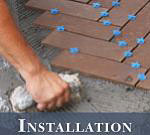 Outdoor Tile Installation