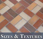 Outdoor Tile Sizes and Textures