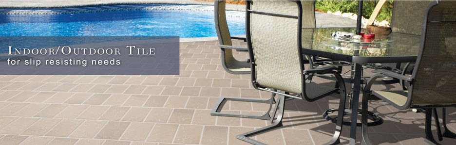Outdoor Tile for Slip Resisting Needs